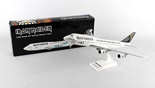 Daron SkyMarks Iron Maiden 747-400 1:200 W:Gear Ed Force One SKR899, White