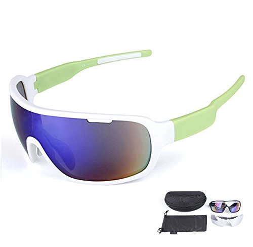 Lorsoul Polarized Sports Cycling Sunglasses Bike Glasses for Men Women Running Driving Fishing Golf Baseball Racing Ski Goggles - Scratches Lenses Plastic To Remove How From