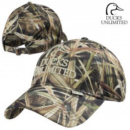Ducks Unlimited Hat - Mossy Oak Ducks Unlimited Shadow Grass Blades Structured Cap