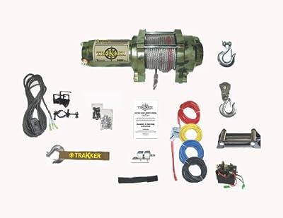 Keeper Corporation Trakker 1.475-horsepower Electric Winch - 3,000-Pound Capacity