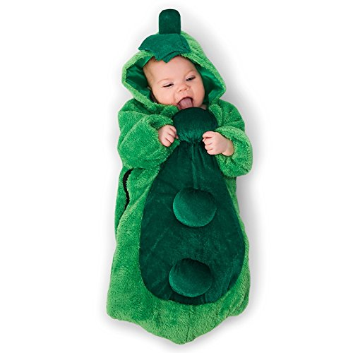 Pea in the Pod Infant Bunting Costume 0-6M - 2 Peas In A Pod Costumes