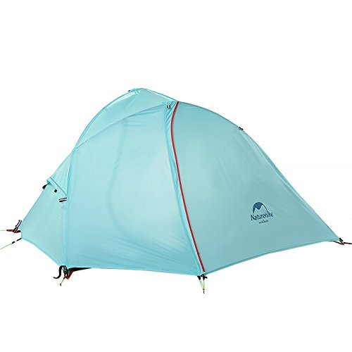 Naturehike 1 Person Zelt 3 Saison Camping Zelt Double Layer Winddicht Wasserdicht Zelt Grau