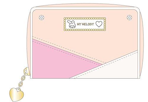 My Melody 3 color scheme series coin case beige ()