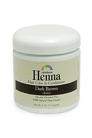 Rainbow Research Dark Brown Henna 4 Oz Amazon Co Uk Business