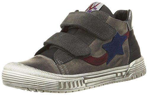 Naturino 3986 Jungen Hohe Sneakers Grau (Grau  9101)