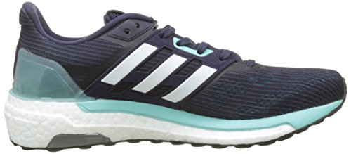 Bleu footwear Running Femme energy noble De White Chaussures Aqua Adidas Ink Supernova Aq4TwO