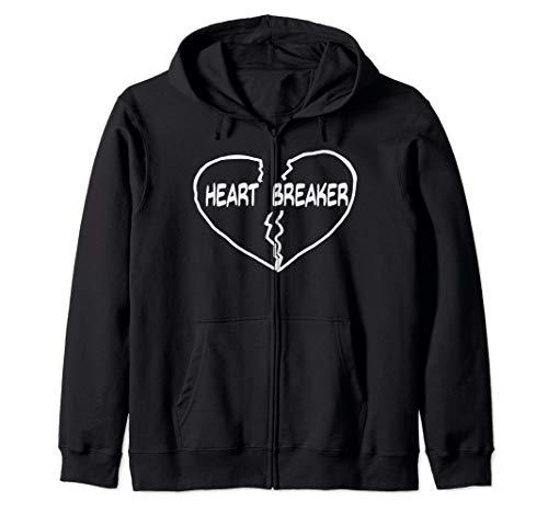 HeartBreaker Funny Valentines Day Heart Breaker  Zip Hoodie