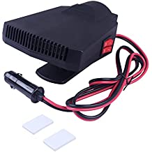 AUTOPDR Portable Car Heater Fast Heating 12V 200W Car Fan Heater Automobile Heater 360° Rotation With 1.8M Meter Warmer and Defroster for Easy Snow Removal