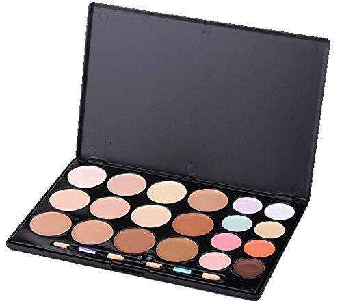 Easy lifestyles Professional 20 Warm Colors Concealer Camouflage Foundation Makeup Contour Palette Face Contouring Kit