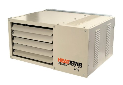 Mr. Heater 50K Natural Gas Shop Garage Unit (Gas Commercial Unit Heater)