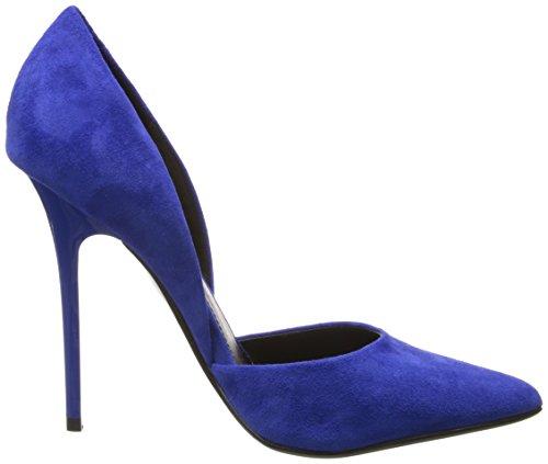Steve Madden Varcityy, Chaussures de Danse de Salon Femme Blu