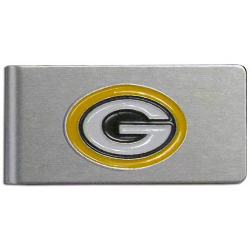 NFL Green Bay Packers Brushed Money Clip