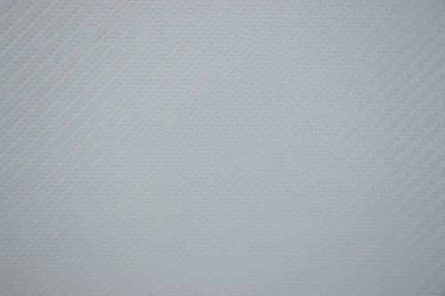 Seat Pvc White (Bry-Tech Marine1 Marine Vinyl Upholstery Fabric White Carbon Fiber Sample 3