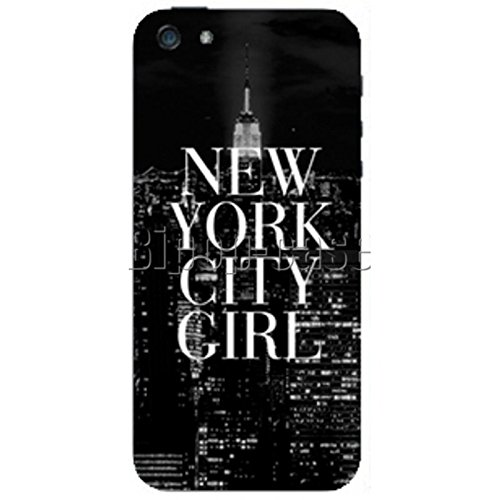 COQUE PROTECTION TELEPHONE Iphone 5 ET 5S - NEW YORK CITY GIRL