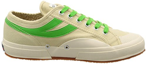 Adulte Ecru cotu Mixte Baskets 2750 Panatta Superga green Basses Yq0Z0w