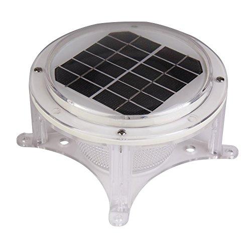 TTnight 6V 1.5W Solar Power LED Piling Light Lamp Auto Li...