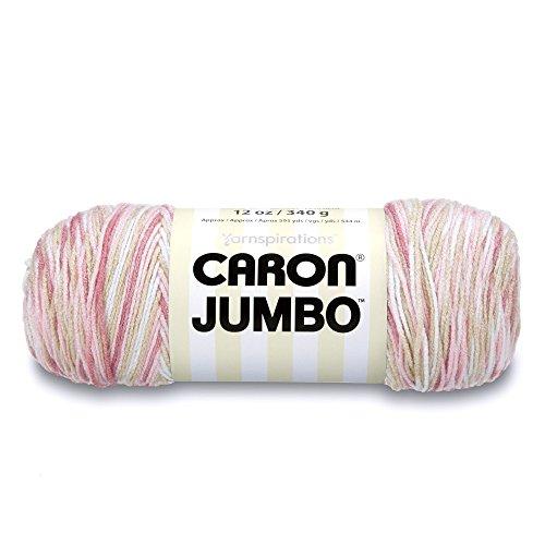 Caron Jumbo Ombre Yarn, 12 oz, Rosewood, 1 Ball