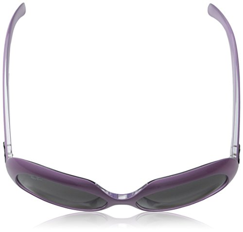 Ray-Ban INJECTED WOMAN SUNGLASS - TOP PINK ON TRANSPARENT Frame GREY GRADIENT DARK GREY Lenses 55mm Non-Polarized by Ray-Ban (Image #4)