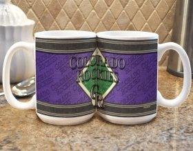 Colorado Rockies Coffee Mug - Felt ()