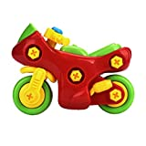 Hot Sale! Canserin Christmas Gifts Disassembly Motorcycle Toys Educational Toys For Children Kids