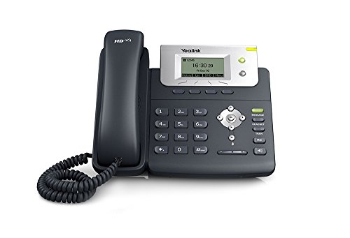 Ooma Office Provisioned Yealink Sip-T21P E2 2-Line IP Phone (Best Virtual Phone System For Small Business)