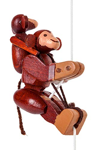 Alexander Taron Dregeno Kids Decorative Monkeys Climbing Toy - 1.75