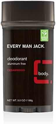 Every Man Jack Deodorant, Aluminum Free, Cedarwood, 3 Ounce