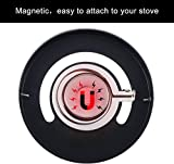 Magnetic Wood Stove Thermometer Fire Stove Pipe