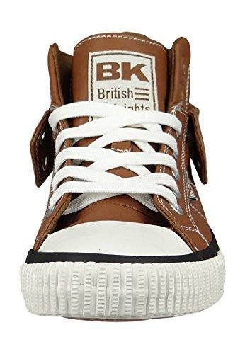 British Knights Roco, Women's Hi-Top Sneakers Cognac