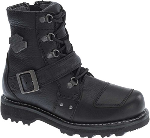 Motorcycle Boots Black - 6