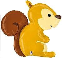 Woodland Squirrel Critter 36 Mylar Balloon