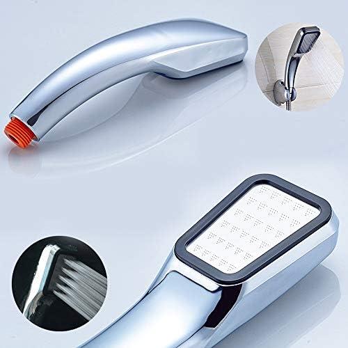 高圧シャワーヘッド、300穴のバスルームハンドヘルドシャワーヘッド、溶接不要、清掃と設置が簡単、効果的なブースティング