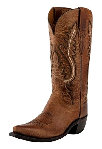 Lucchese Kvinners Håndlaget 1883 Cassidy Cowgirl Boot Klipp Tå Tan 5,5 M Oss