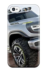 Durable Case For The Iphone 4/4s- Eco-friendly Retail Packaging(mercedes Benz Ener G Force Concept Car2013 Widescreen Car)