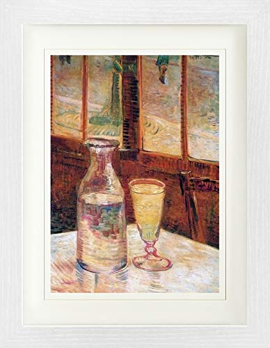 Vincent Van Gogh Framed Collector Poster - Still Life with Absinthe, 1887 (16 x 12 inches)