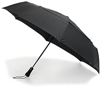 ShedRain WindPro Jumbo Umbrella Auto Open & Close, Black, One Size