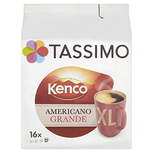 Kenco Classic Blend Coffee, T-Discs for Tassimo Coffeemakers, 16-Count Packages (Pack of 2) [Amazon Frustration-Free Packaging]