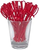 1 X Sword Cocktail Picks - RED (Box of 250)