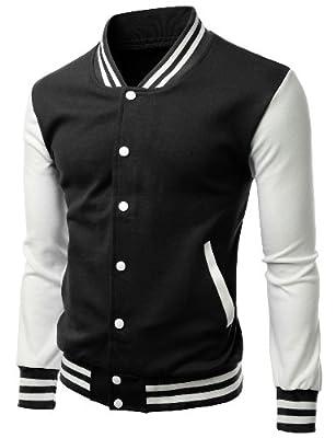 Xpril men's Stylish fabric Baseball jacket