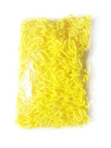 PLASTIC CHAIN IN YELLOW CROWD CONTROL CENTER 32FT