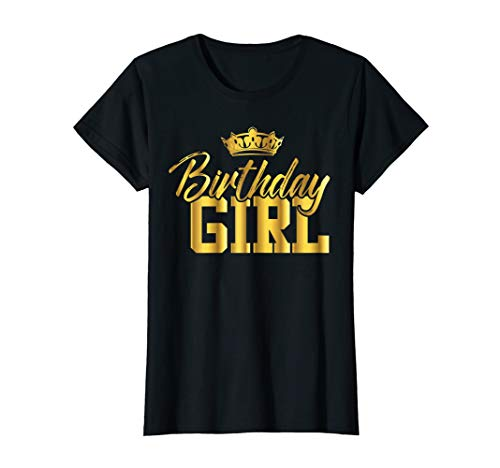 BIRTHDAY GIRL Shirt| Cute Teen B-day T-shirt Gift