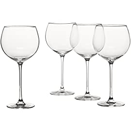 Lenox Tuscany Classics Grand Beaujolais 50 Dishwasher safe Set of four Grand Beaujolais balloon-style wine glasses Crafted from full-lead crystal