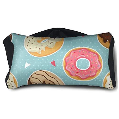 Eye Pillow Vintage Polka Dot Donut Love Heart