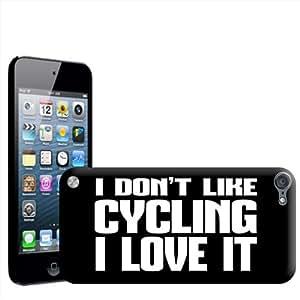 Fancy A Snuggle 'I Don't como para bicicleta... I Love it!' carcasa para Apple iPod Touch 5th generación