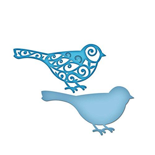 - Spellbinders S2-075 Die D-Lites Tweets Etched/Wafer Thin Dies