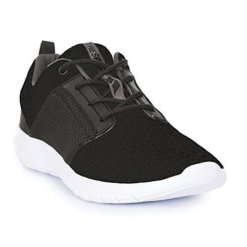 Trespass Mens Romanetti Trainers (12 UK) (Black) MhYinI90O
