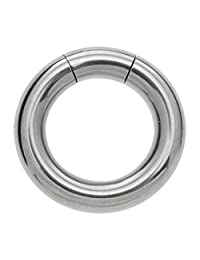 Surgical Steel Smooth Segment Ring - 6mm 16mm