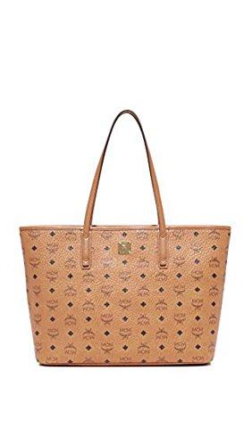 MCM Women's Anya Zip Top Shopper Tote ()