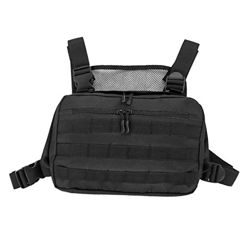 (DYNWAVE Molle Vest Bag Multifunction Backpack for Hunting Hiking Camping)
