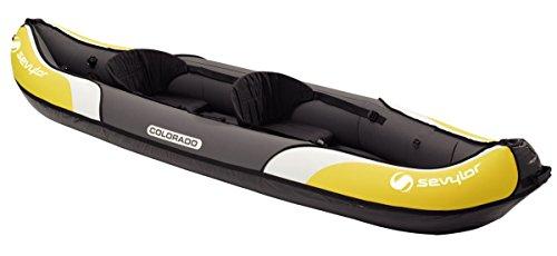Sevylor Inflatable Kayak Colorado - 2 man Canadian Canoe, Sea Kayak, 331 x...